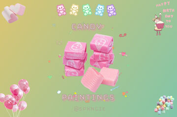 Candy Paintings Minecraft Texture Pack