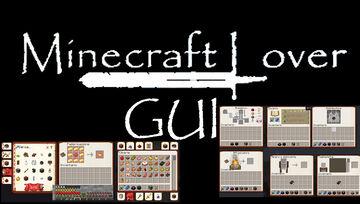 Minecraft Lover -GUI 1.17+ Minecraft Texture Pack