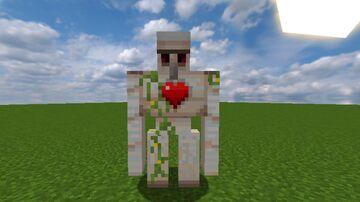 Iron Golem Hearth HP Minecraft Texture Pack