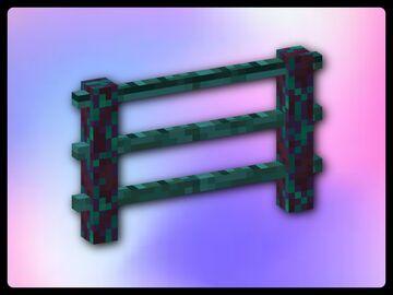 Fancy Long Taller Fences Minecraft Texture Pack