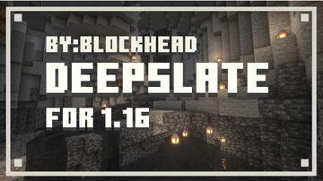 Deepslate 𝙁𝙤𝙧 1.16 Minecraft Texture Pack