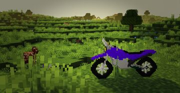 1.16 - Purple PocketBike - for fun Minecraft Texture Pack