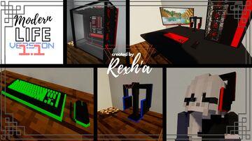 Modern Life Minecraft Texture Pack