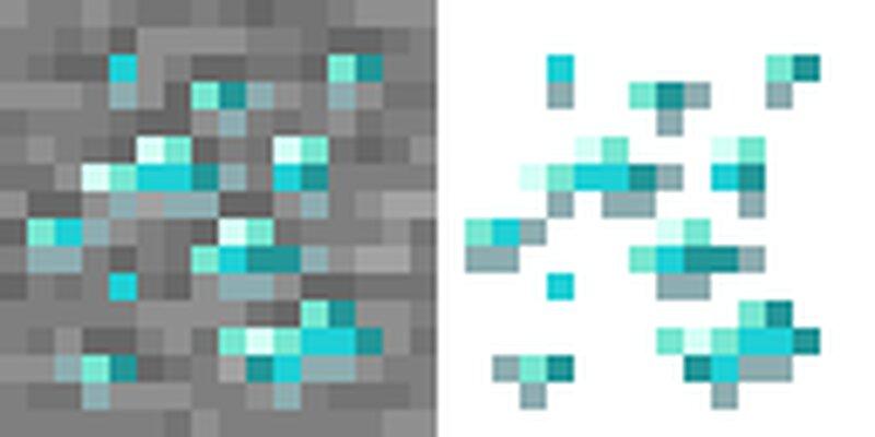 Example negative image creation process