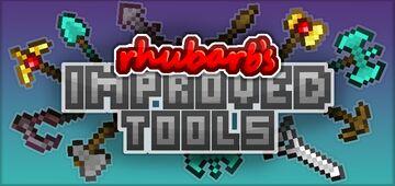 Rhubarb's Improved Tools Minecraft Texture Pack