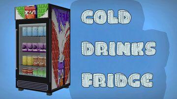 3D Model   Cold drinks fridge Minecraft Texture Pack