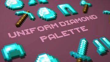 Uniform Diamond Palette Minecraft Texture Pack