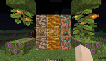 Better Raw Ores Minecraft Texture Pack