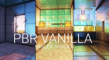 Vanilla PBR Minecraft Texture Pack