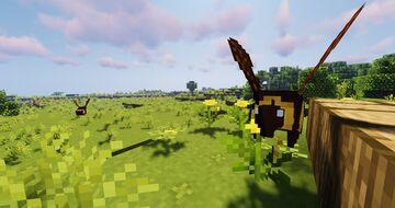Mink's Bumblebees 1.17.1 v1.0 Minecraft Texture Pack