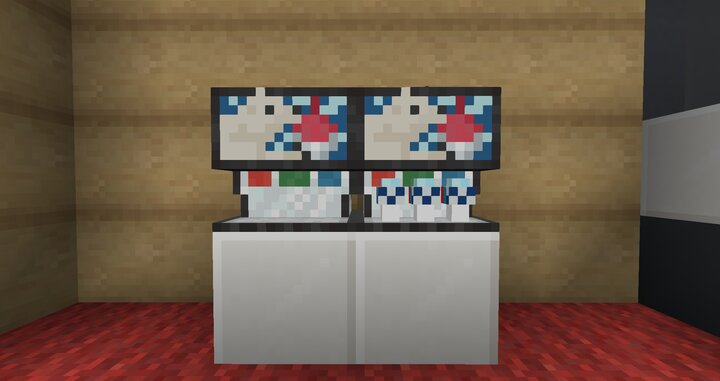 Icees in Minecraft, just what I wanted, and now what you want too!