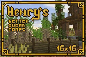 Henry's Better Sugar Cane Minecraft Texture Pack