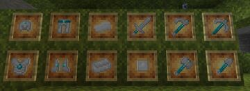 Netherite is now Platinum Minecraft Texture Pack