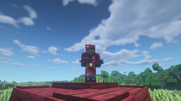 General Red totem Minecraft Texture Pack