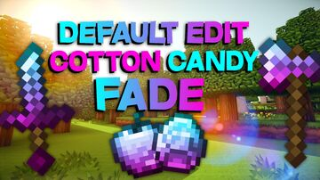 Default Edit Cotton Candy Fade Minecraft Texture Pack