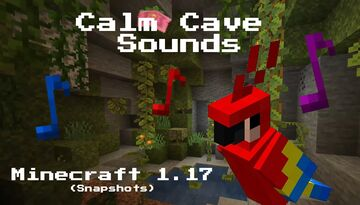 Calm Cave Sounds [SoundPack] Minecraft Texture Pack