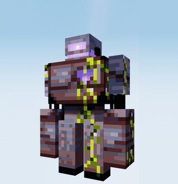 Dark Iron Golems Minecraft Texture Pack