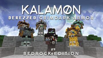 Kal's Derezzed Grimdark Armor [Bedrock] Minecraft Texture Pack