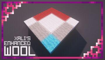 xali's Enhanced Wool Minecraft Texture Pack