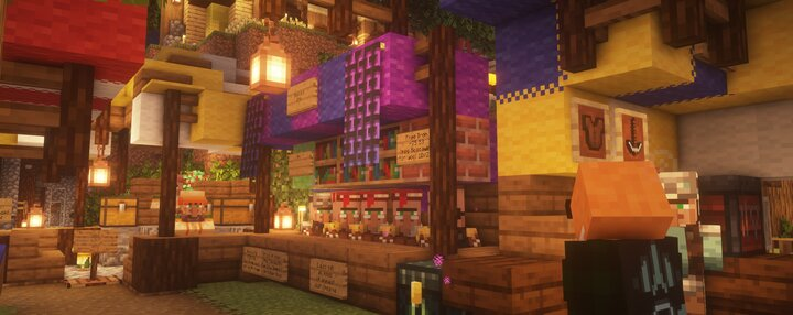 Boscawinks shop on the PMC server