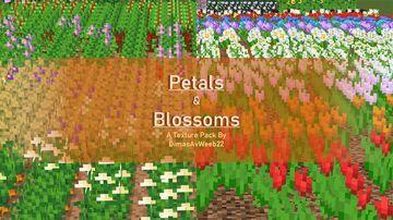 Petals & Blossoms Minecraft Texture Pack