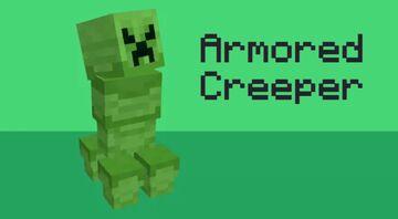 Armored Creeper (Optifine) Minecraft Texture Pack