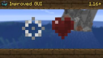 Improved GUI   1.17+ Minecraft Texture Pack