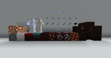 White Netherite 1.17 Minecraft Texture Pack