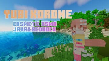 Yubi Korone [COSMETIC ASMR] Java&Bedrock Minecraft Texture Pack