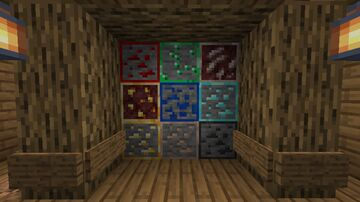 Ore Outlines 1.16+ Minecraft Texture Pack