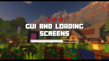 GUI and Loading Screens Minecraft Texture Pack