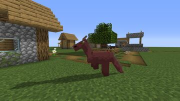 Donkey as Dragon Minecraft Texture Pack