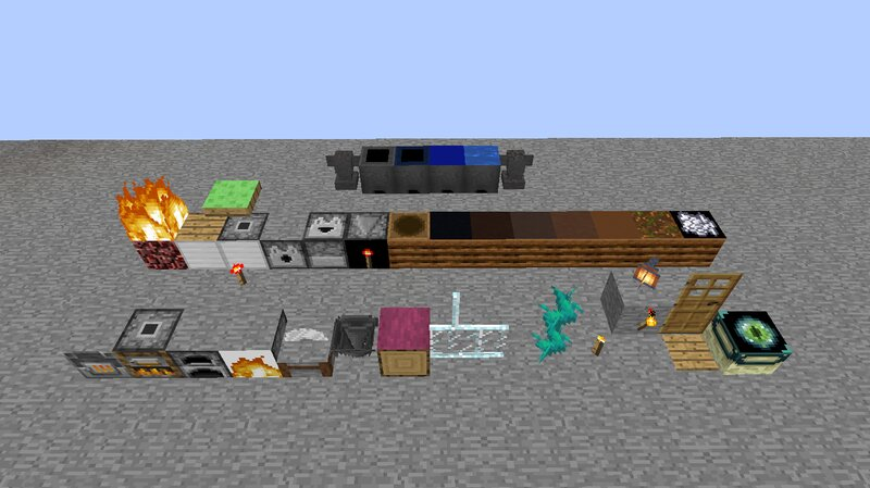 This is my pack along with the Programmer Art textures