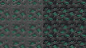 Oxidized Copper Ore Minecraft Texture Pack