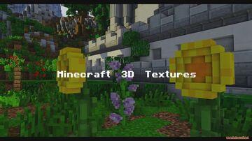 Minecraft 3D Textures Minecraft Texture Pack