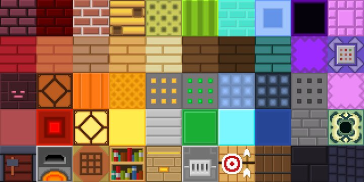 Some of the blocks in my pack