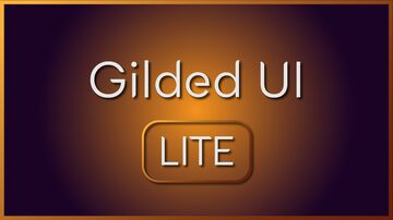 Gilded UI LITE Minecraft Texture Pack