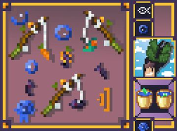 Fishing Resource Pouch of Goodies (PART 1) Minecraft Texture Pack