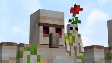 Iron nugget golems Minecraft Texture Pack