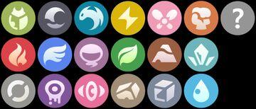 Pokemon Masters Type and Status Icons (Pixelmon Reforged) Minecraft Texture Pack