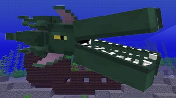 The Monster Of The Ocean Depths Minecraft Texture Pack