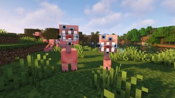 Scary pigs Minecraft Texture Pack