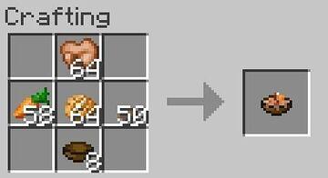 Rabbit Stew Crafting Recipe painting Minecraft Texture Pack