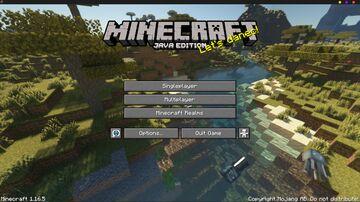 Savanna - Classic Menu Panorama w/Shader! Minecraft Texture Pack