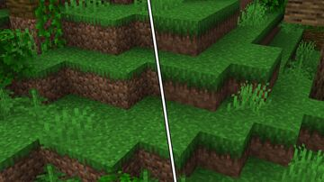 JAPPA styled dirt and vanilla tweaks Minecraft Texture Pack