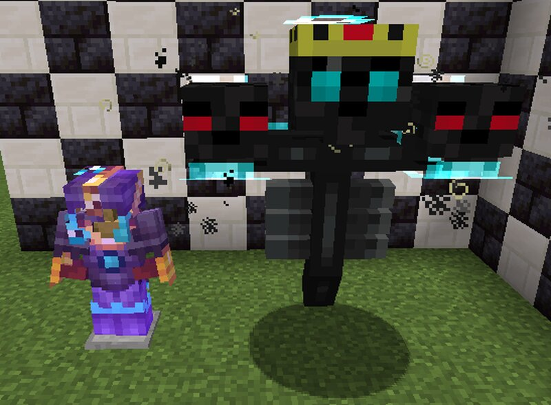 Low durability netherite will get the same effect the wither does when it is low.