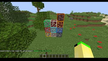 Highlighted ores Minecraft Texture Pack