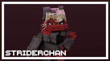 Striderchan Minecraft Texture Pack