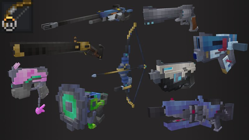 The 9 weapons that got the bow treatment!