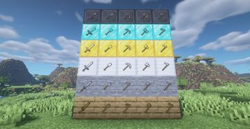 Enchanched tools Minecraft Texture Pack